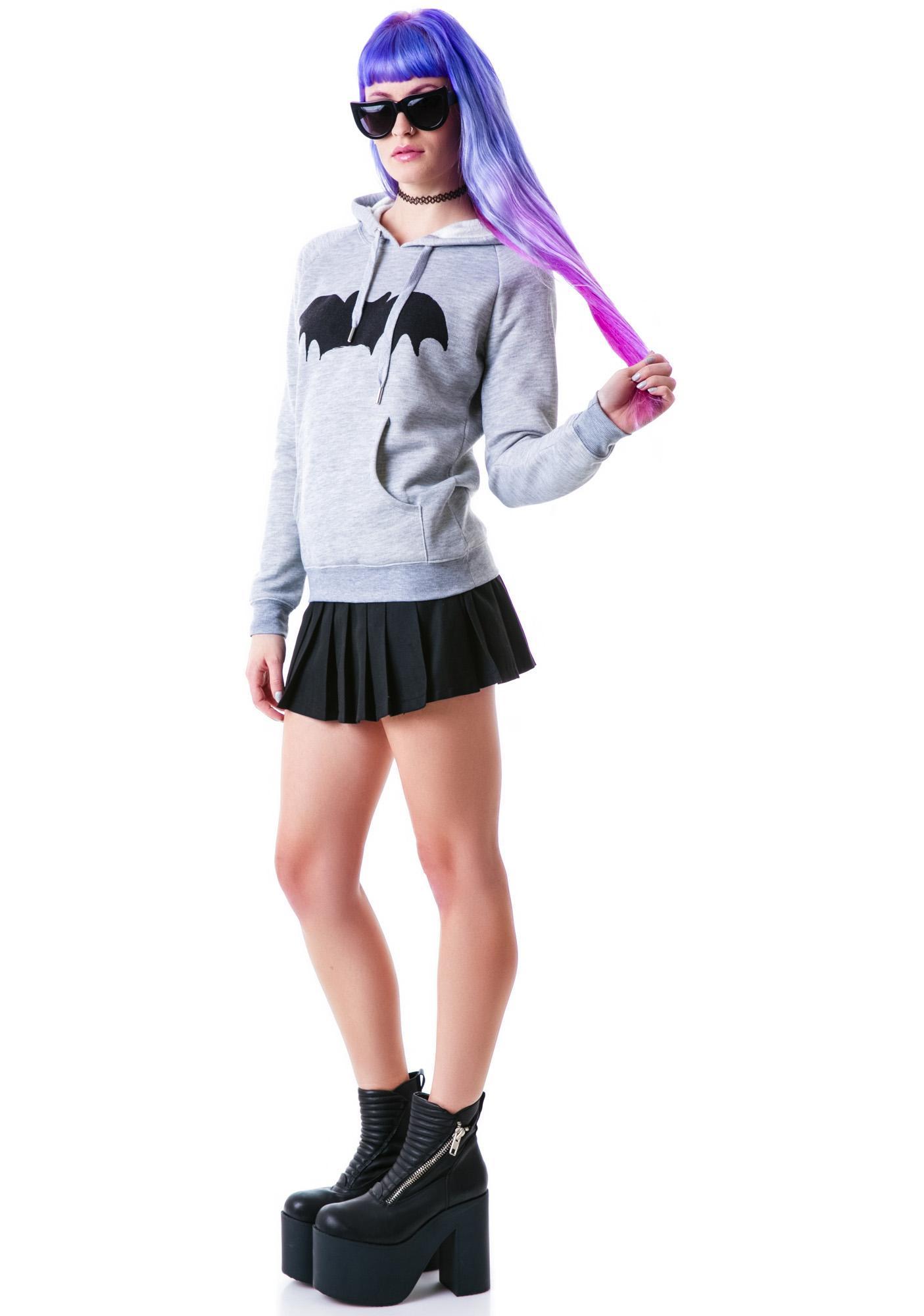 Zoe Karssen Bat Pullover Hoodie