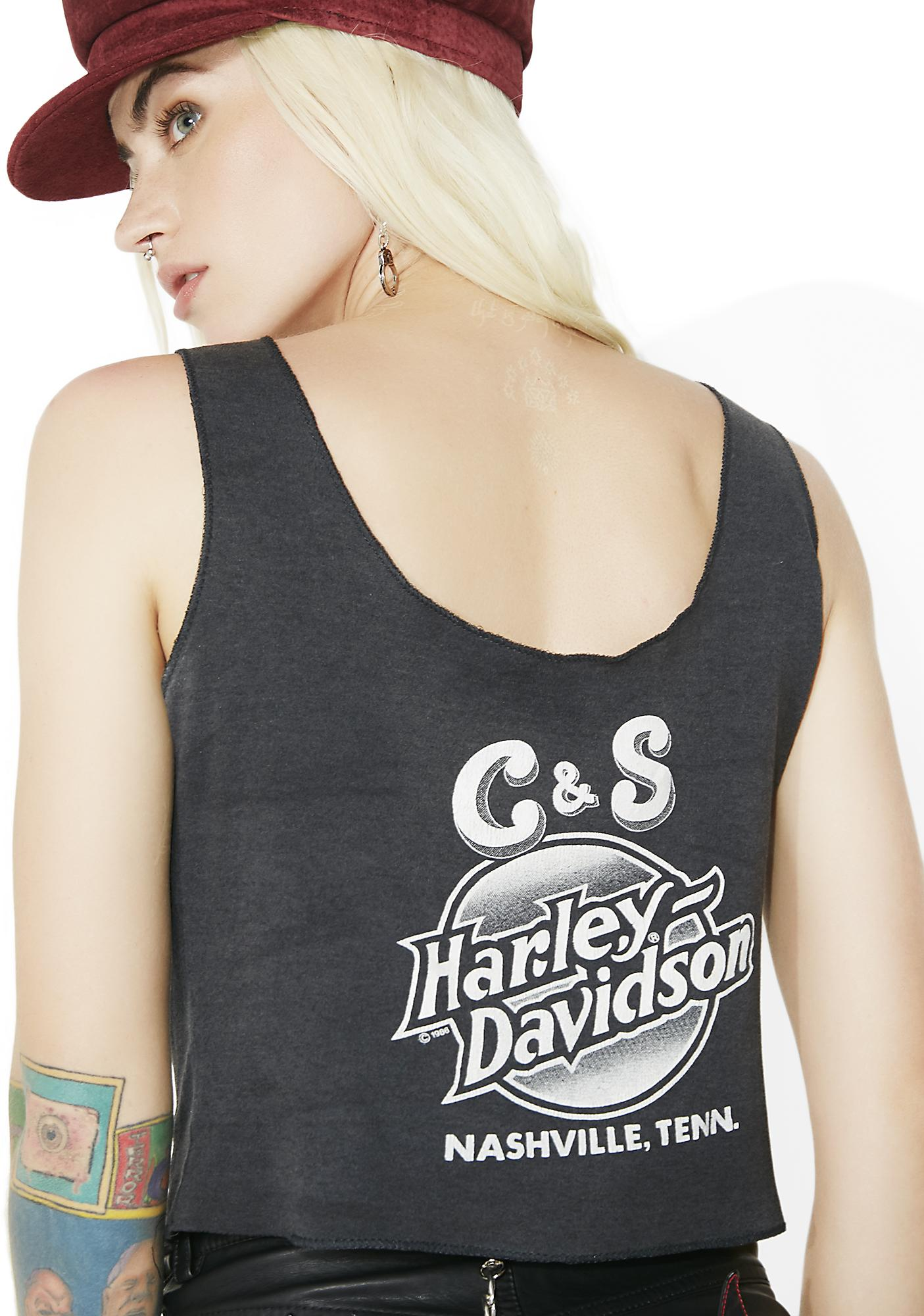 Vintage Harley Davidson Nashville Tank