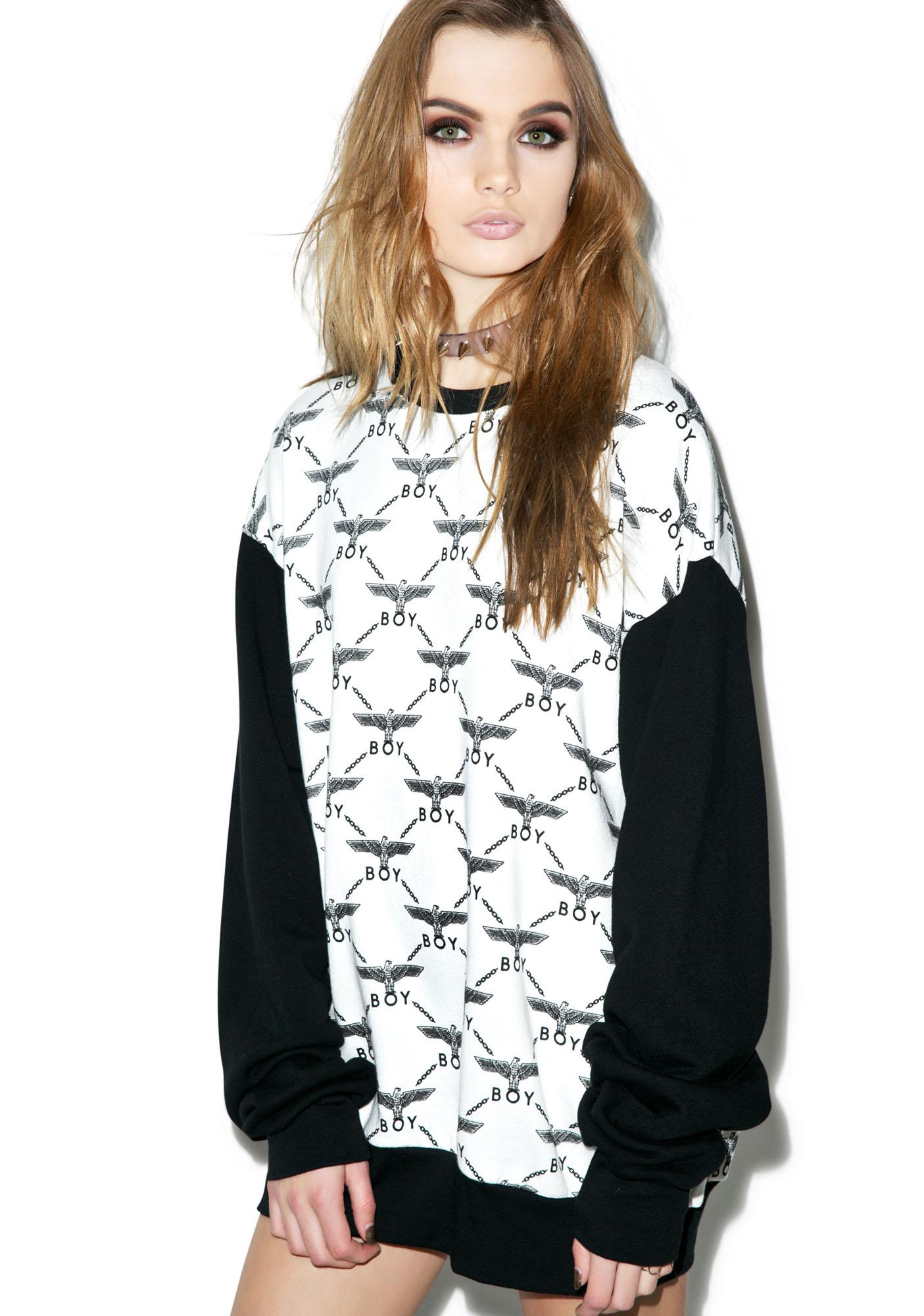 BOY London Eagle Matrix Jumper