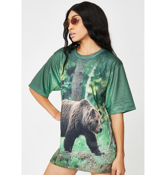 Wildkind Grizzly Graphic Tee