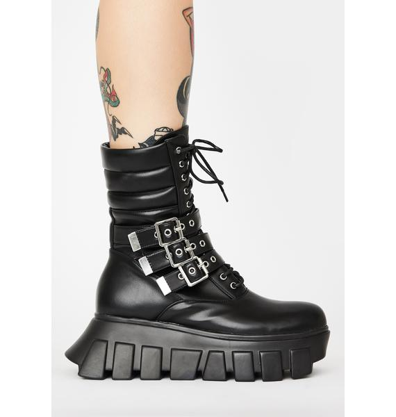 Lamoda Buckle Up Tight Ankle Boots