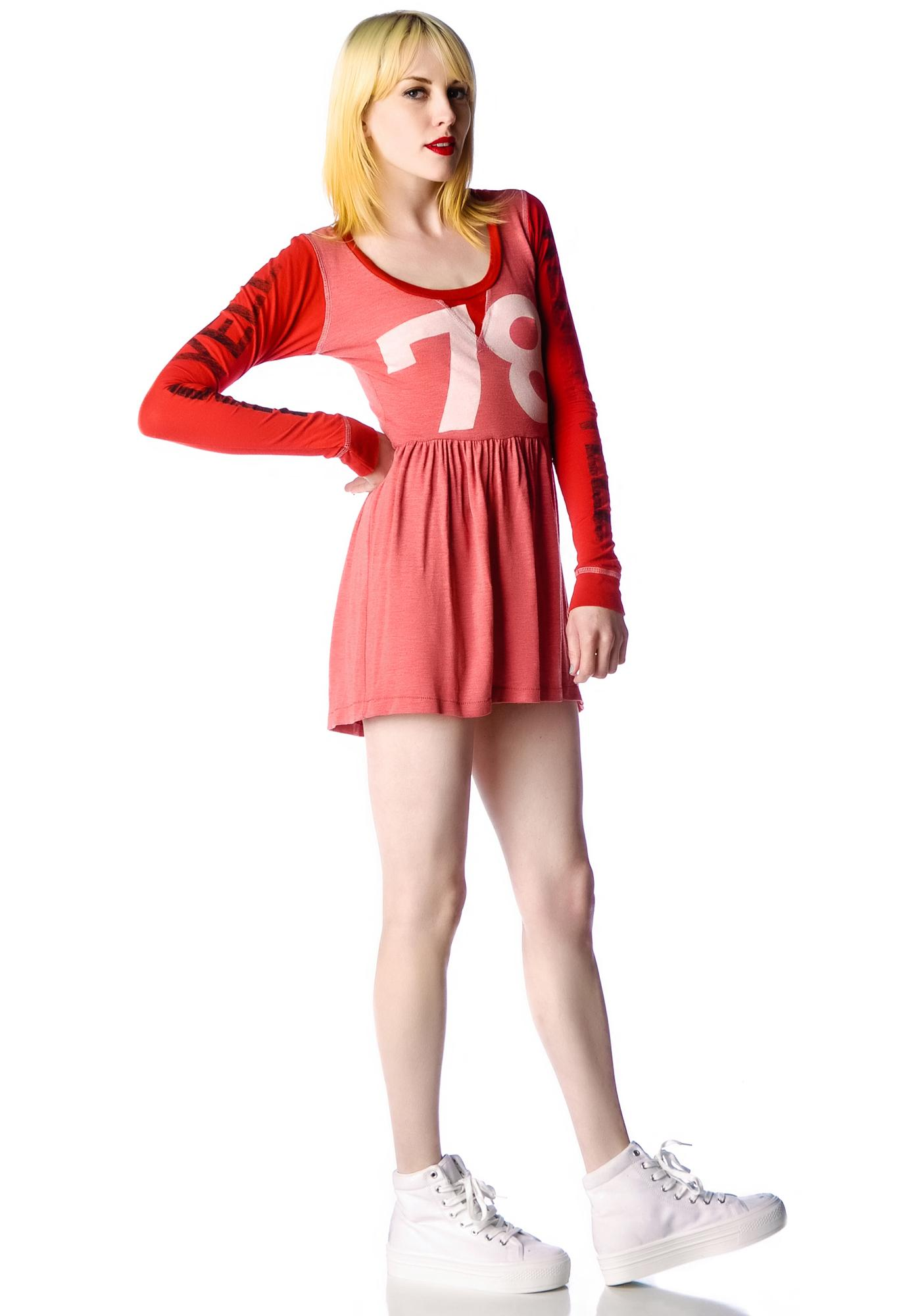 Rebel Yell 78 Babydoll Mini Dress