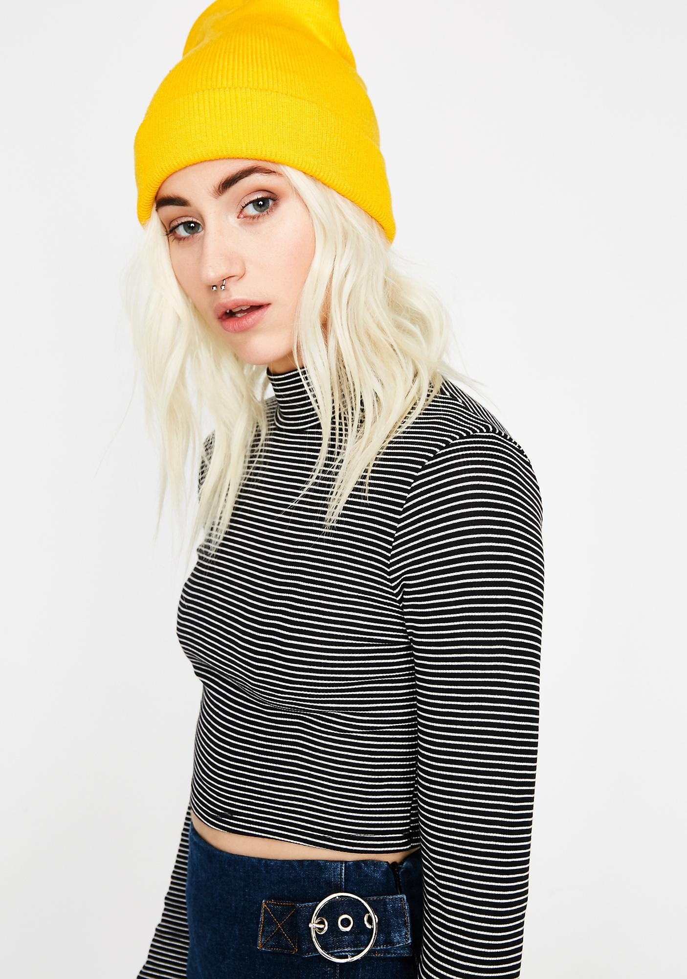 Ink Get With It Stripe Top