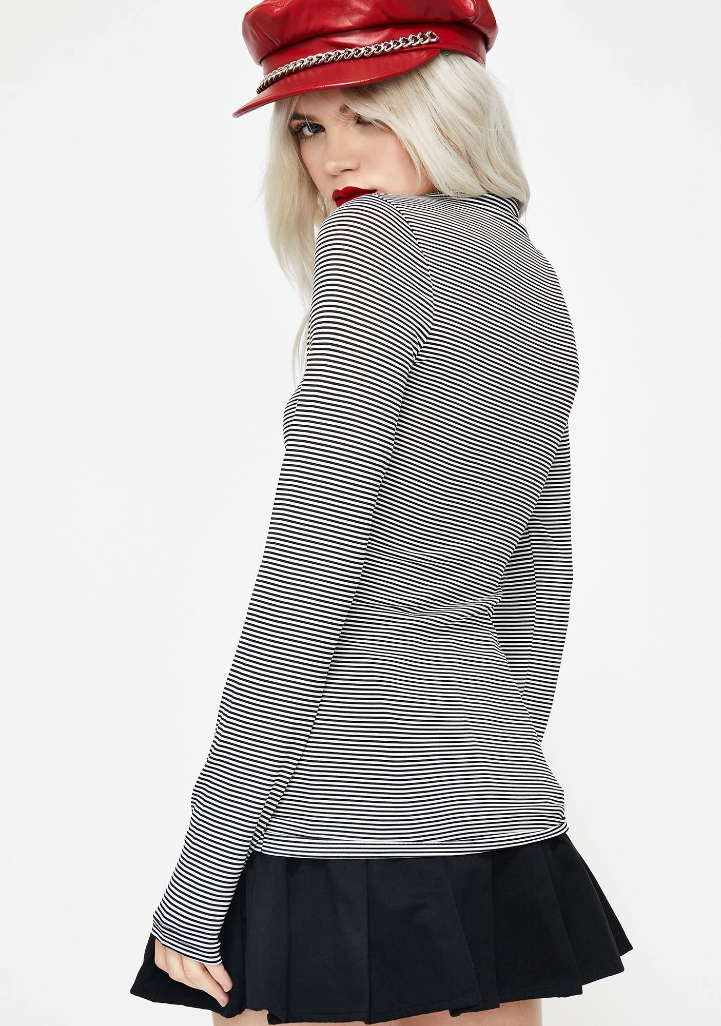 Icon Issues Stripe Top
