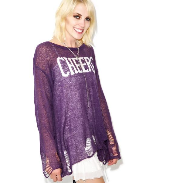Wildfox Couture Cheers Lenon Sweater