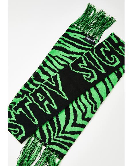 Stay Sick Knit Scarf