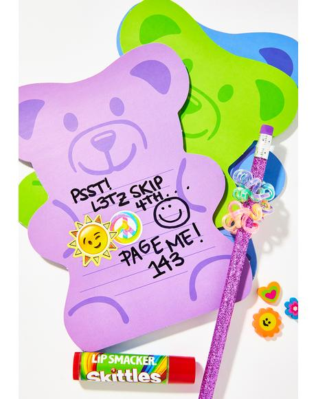 Beary Sweet Note Pad Set