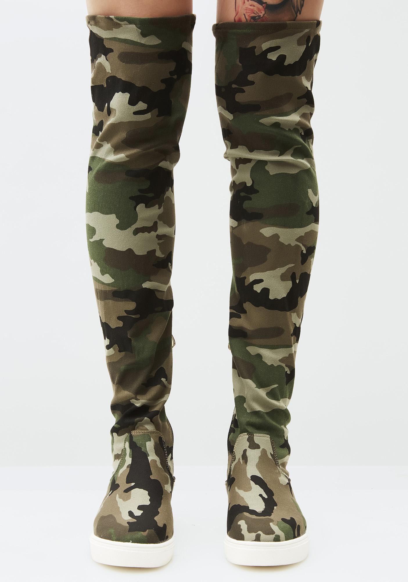 Drop Kick Sneaker Boots