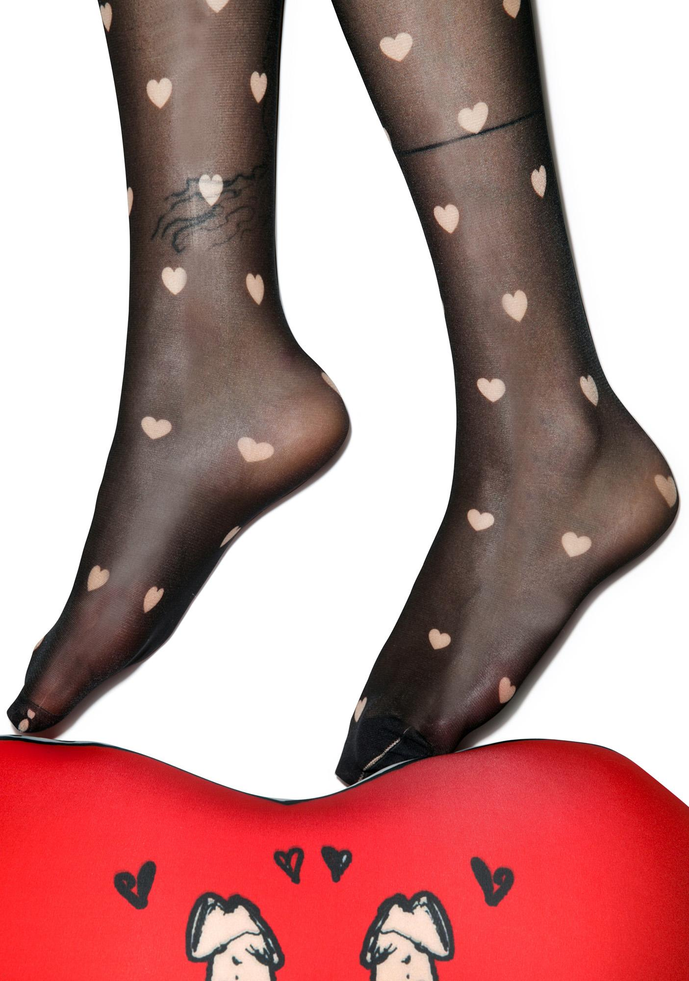 Sugar Thrillz All Over Love Tights