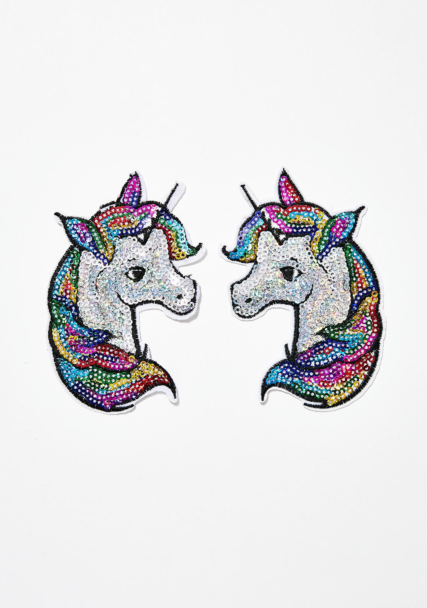 Neva Nude Rainbow Unicorn Nifty Nipztix Pasties
