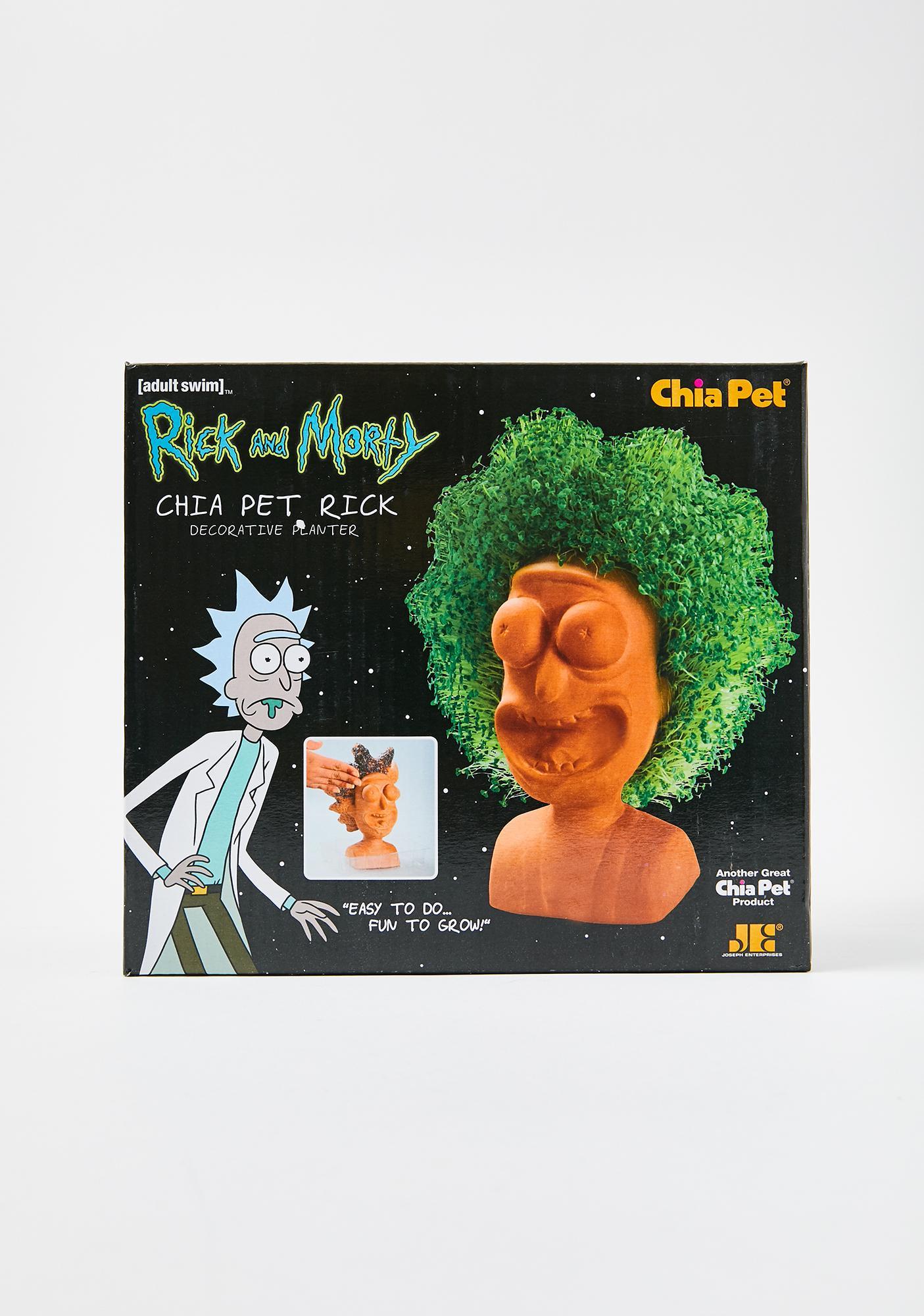 Chia Pet Chia Pet Rick Planter