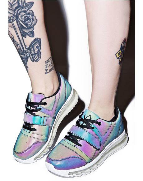 Aiire Reflective Sneakers
