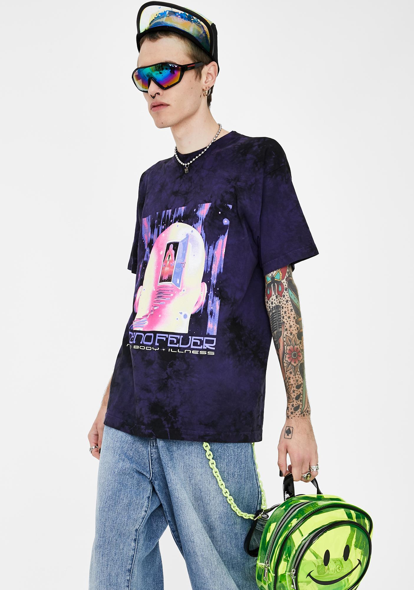 Club Fantasy Tekno Fever Tie Dye Tee