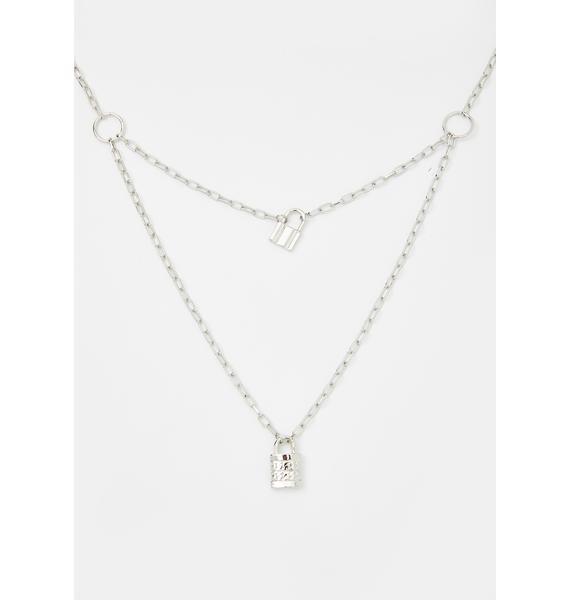 What's My Secret Lock Necklace