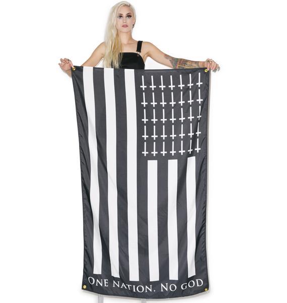 One Nation No God Flag