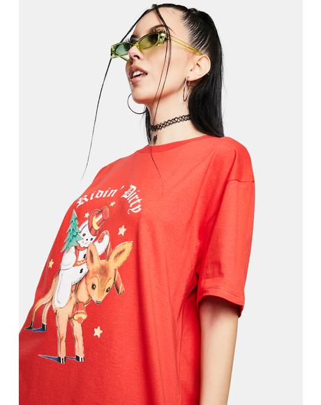 Ridin Dirty Christmas Graphic Tee