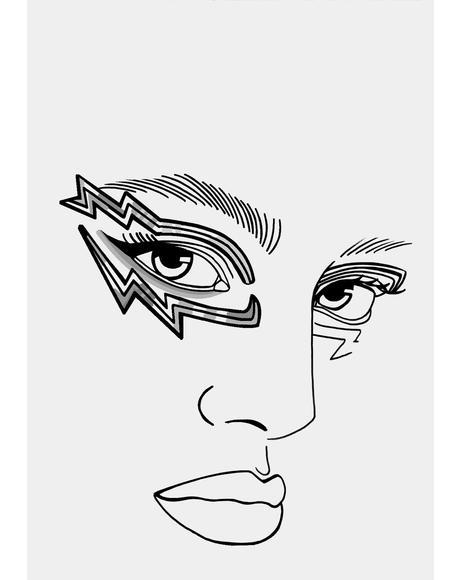 Holograflicks Eye Lace