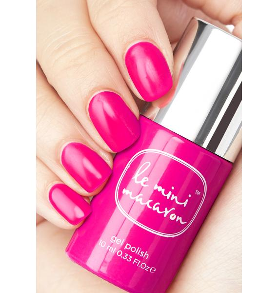 Le Mini Macaron Strawberry Pink Gel Manicure Kit
