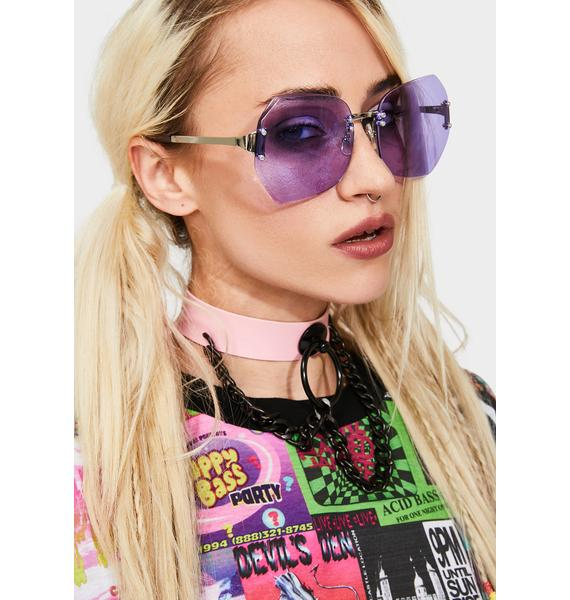Good Times Eyewear Fairy She's A Star Frameless Sunglasses