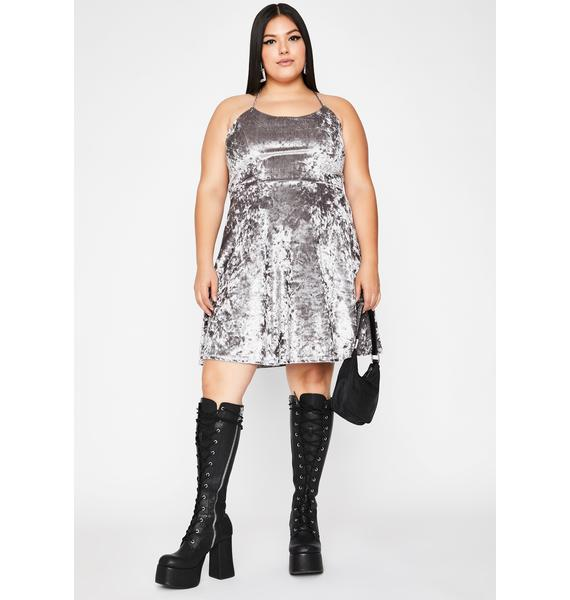 Chrome Hellbound Date Mini Dress