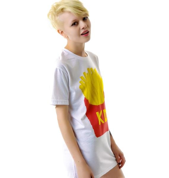 Kid Dangerous French Fries BF Tee