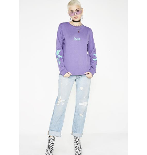 x-Girl Rose Long Sleeve Tee