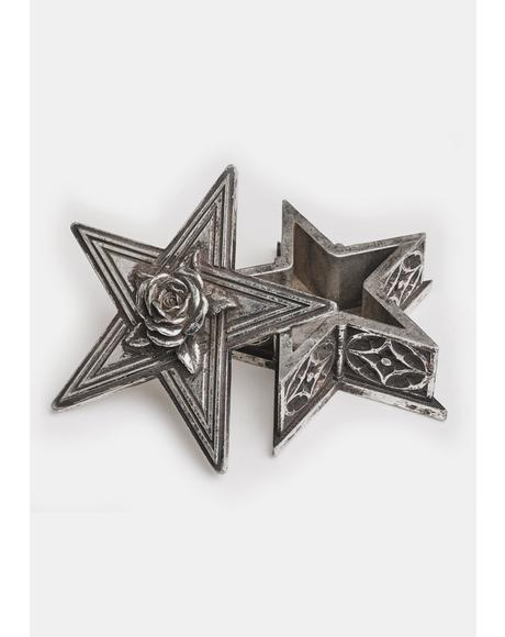 Pentagram Trinket Box