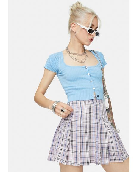 Bright Make Your Choice Crop Top