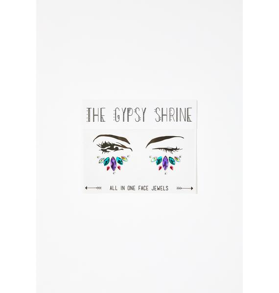 The Gypsy Shrine Dancing Queen Under Eye Jewels