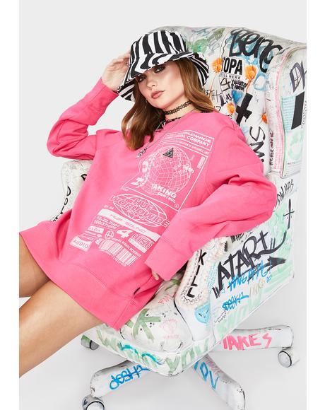 Bit 6 Crewneck Sweatshirt
