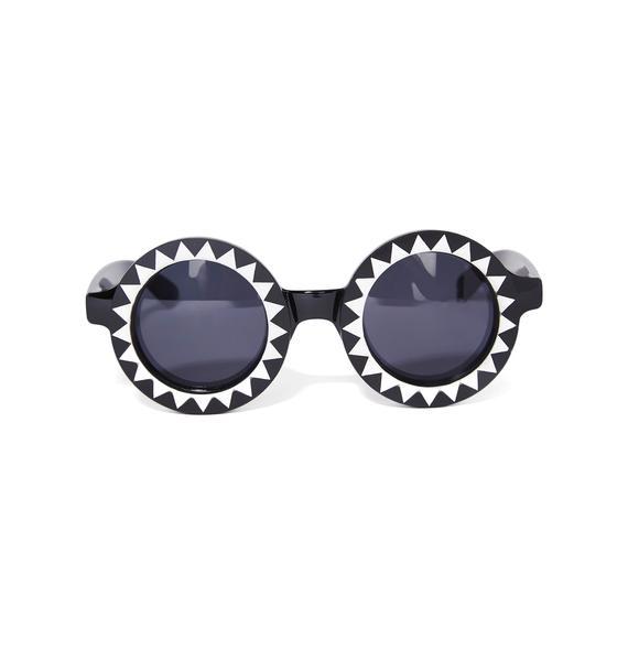 Witch Worldwide Black Hole Sunglasses