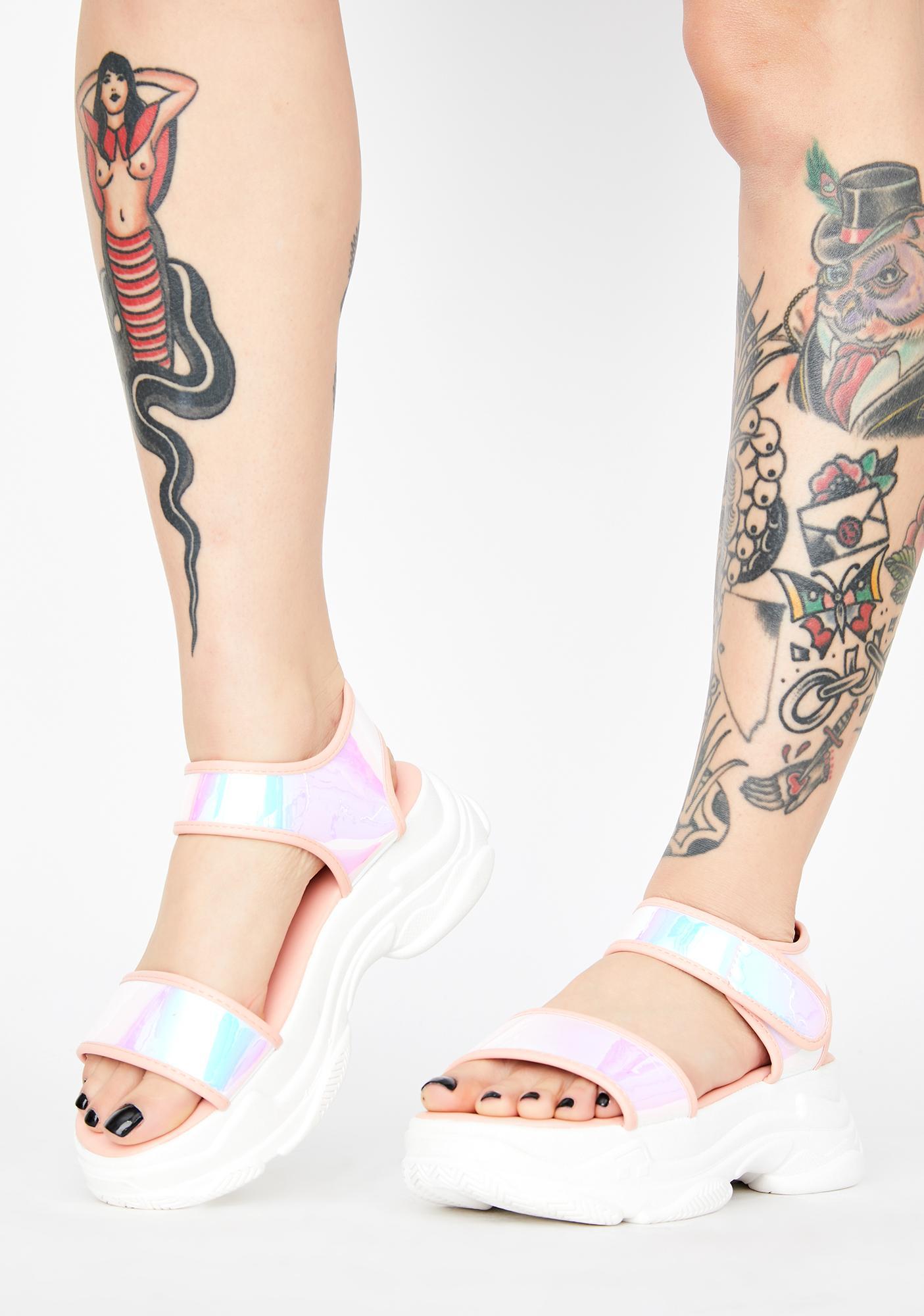 Pearl Late Per Usual Platform Sandals