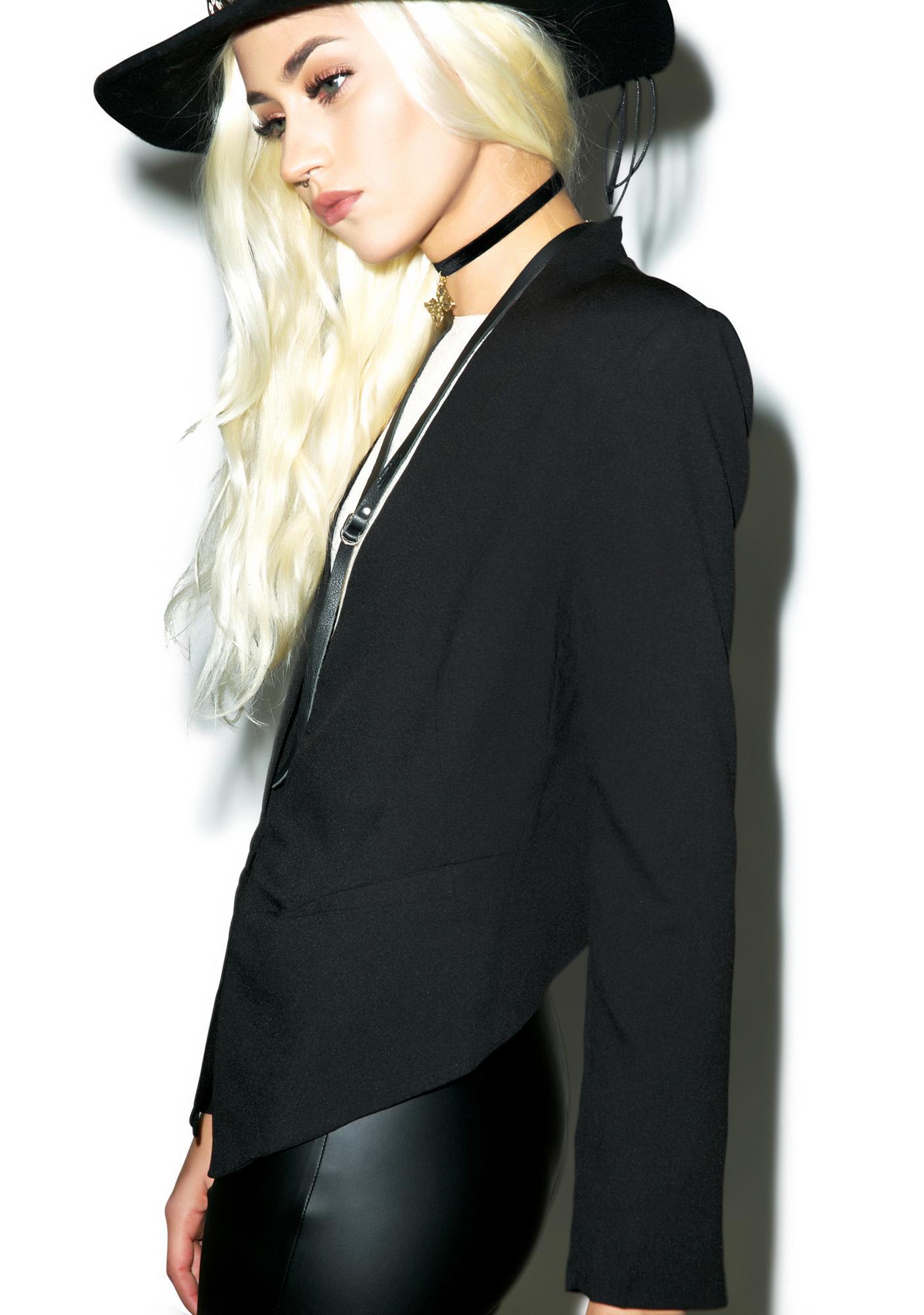 Alexander Fang Tuxedo Blazer