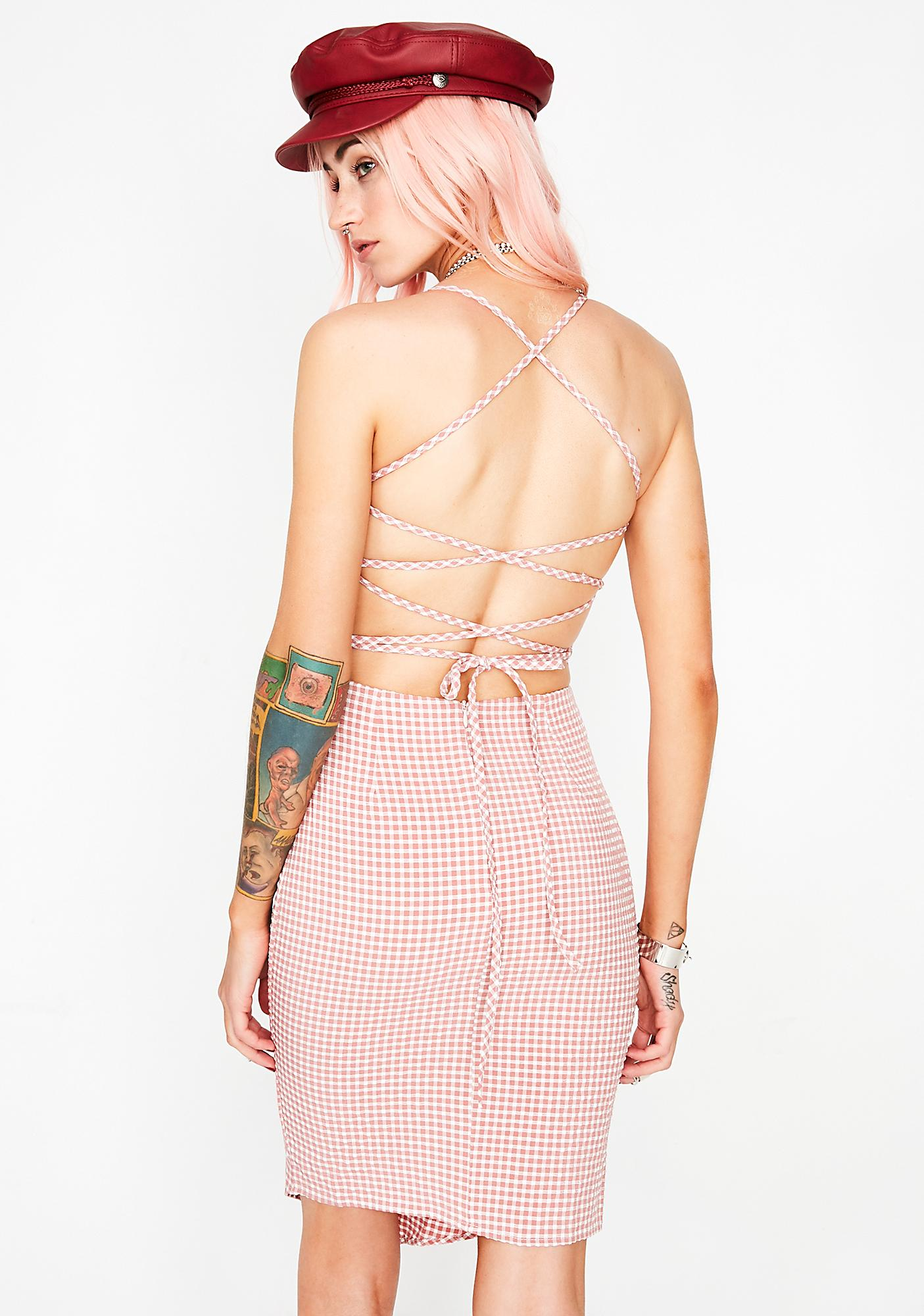 Lover's Lane Gingham Dress
