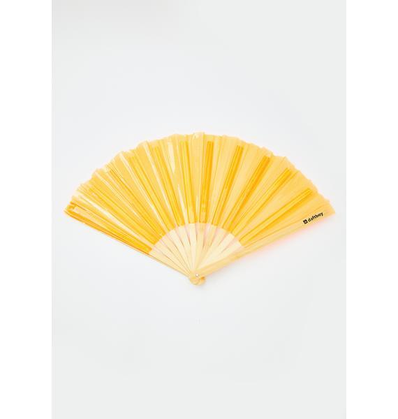 Daft Boy Hi-Lite Orange Fan