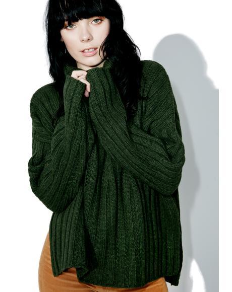Army Knit Sweater