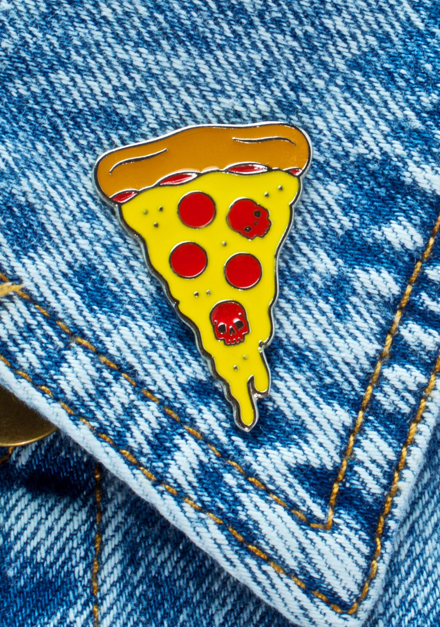 Sourpuss Clothing Pizza Enamel Pin