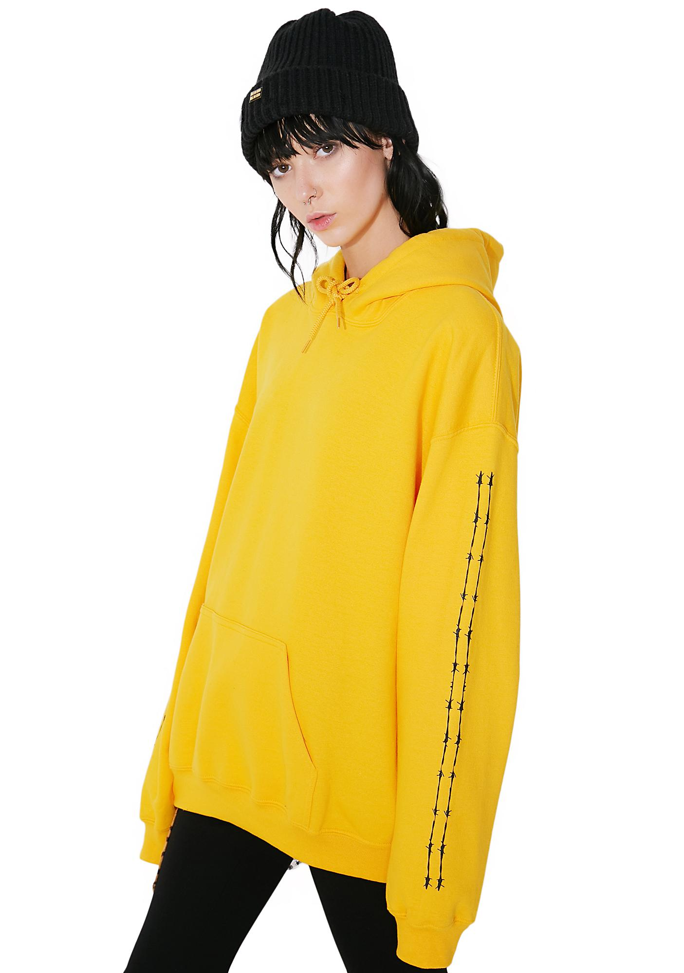 Civil Clothing On The Wire Pullover Hoodie