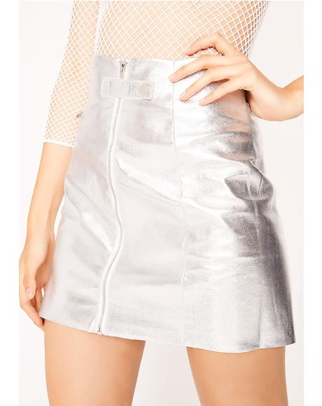 Flyin' Saucer Mini Skirt