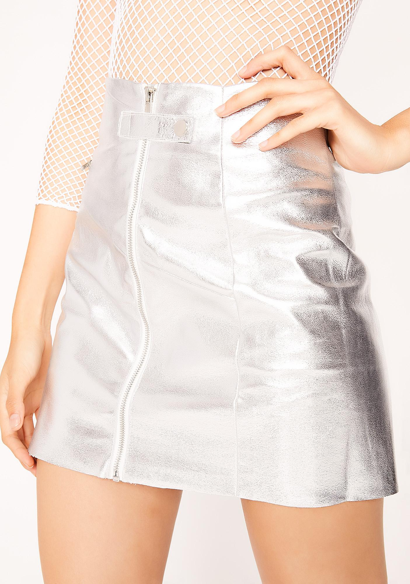 Flyin'  Saucer Mini Skirt