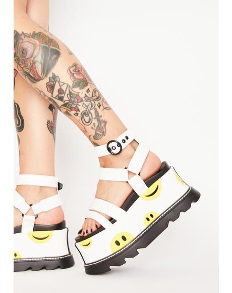 Keep Smiling Platform Sandals