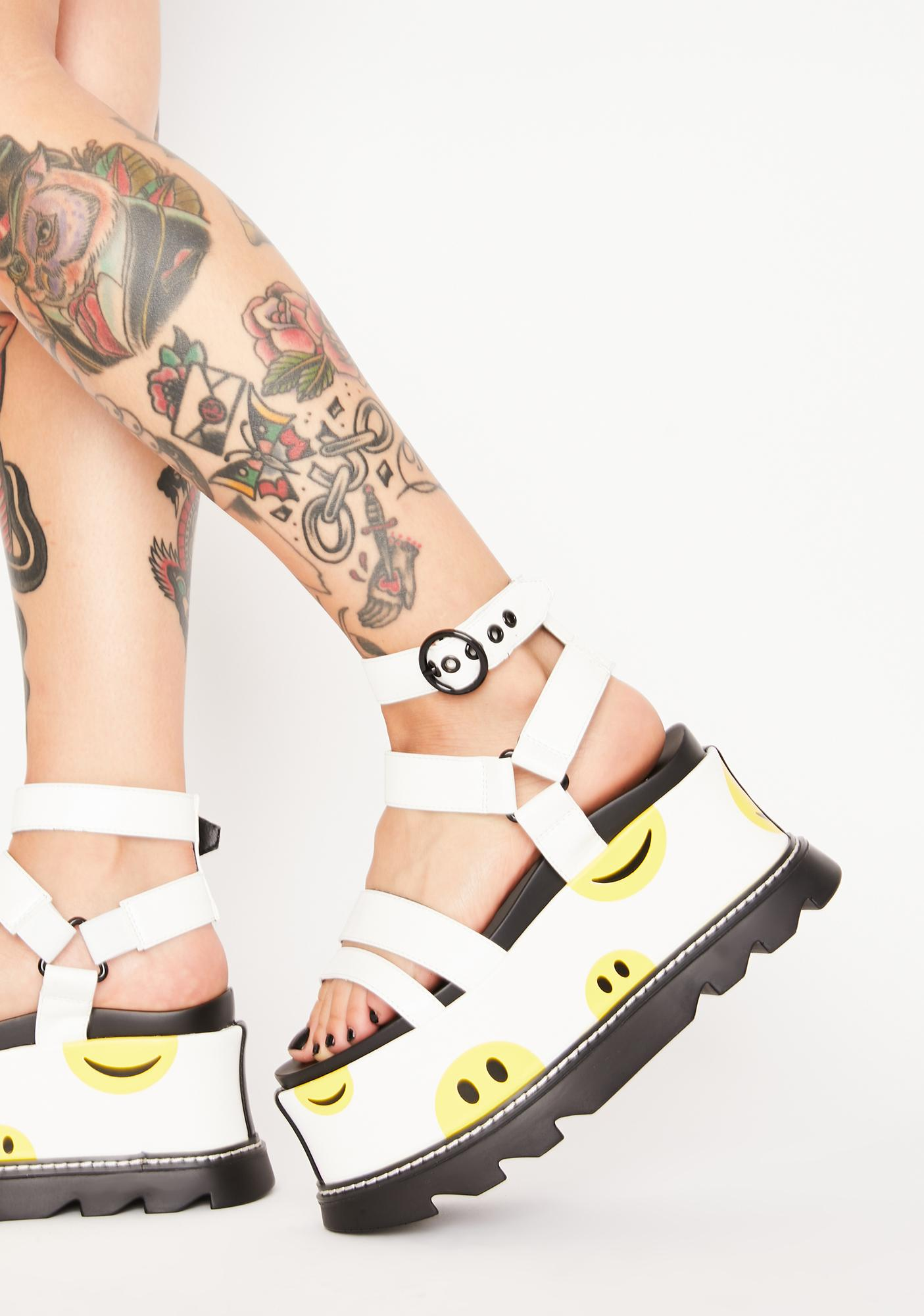 Lamoda Keep Smiling Platform Sandals