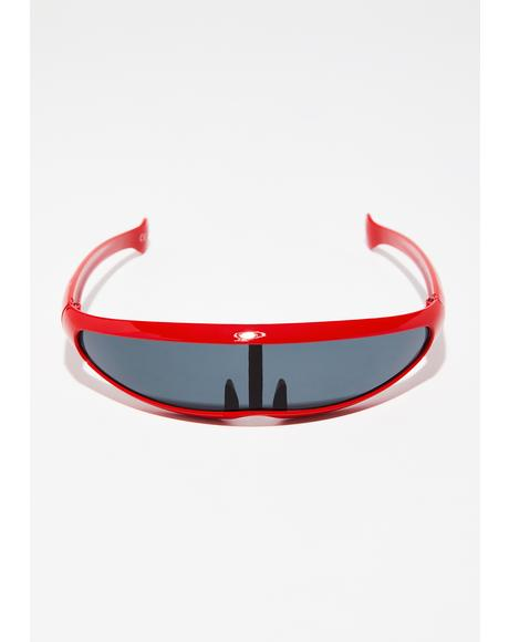 Lit Warp Speed Wrap Sunglasses