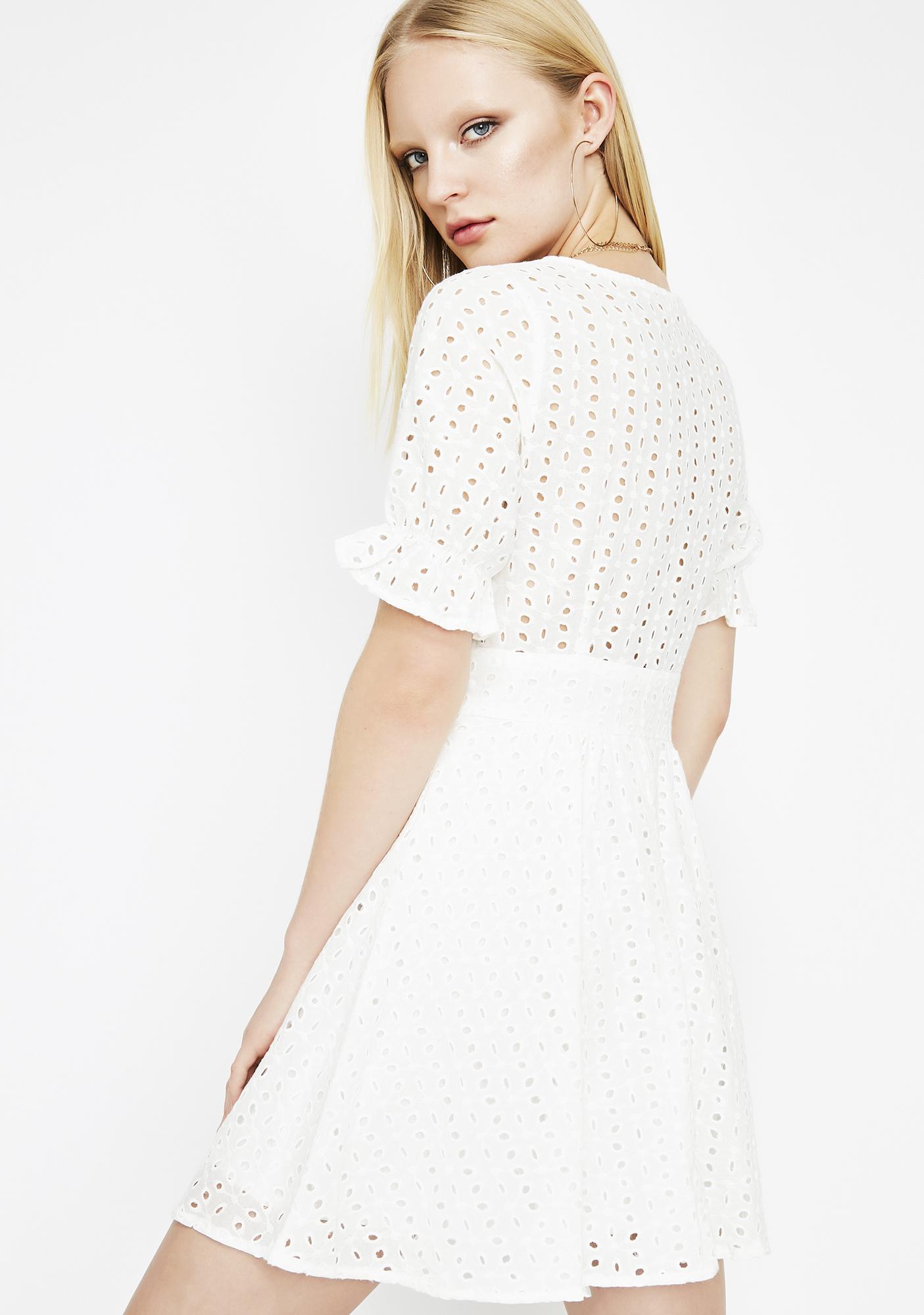 Make Way Eyelet Dress