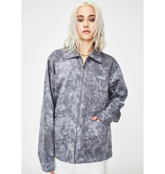 RIPNDIP Masterpiece Mineral Wash Coach Jacket