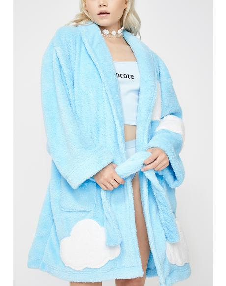 Chill Walkin' On Sunshine Plush Robe