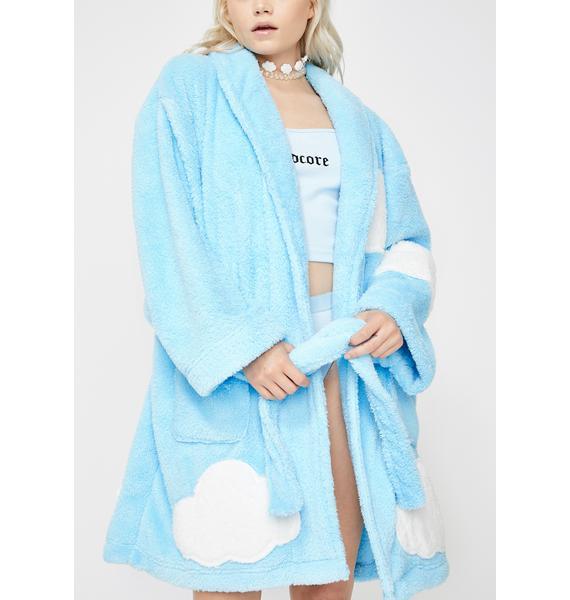 Chill Walkin' On Sunshine Plush Robe