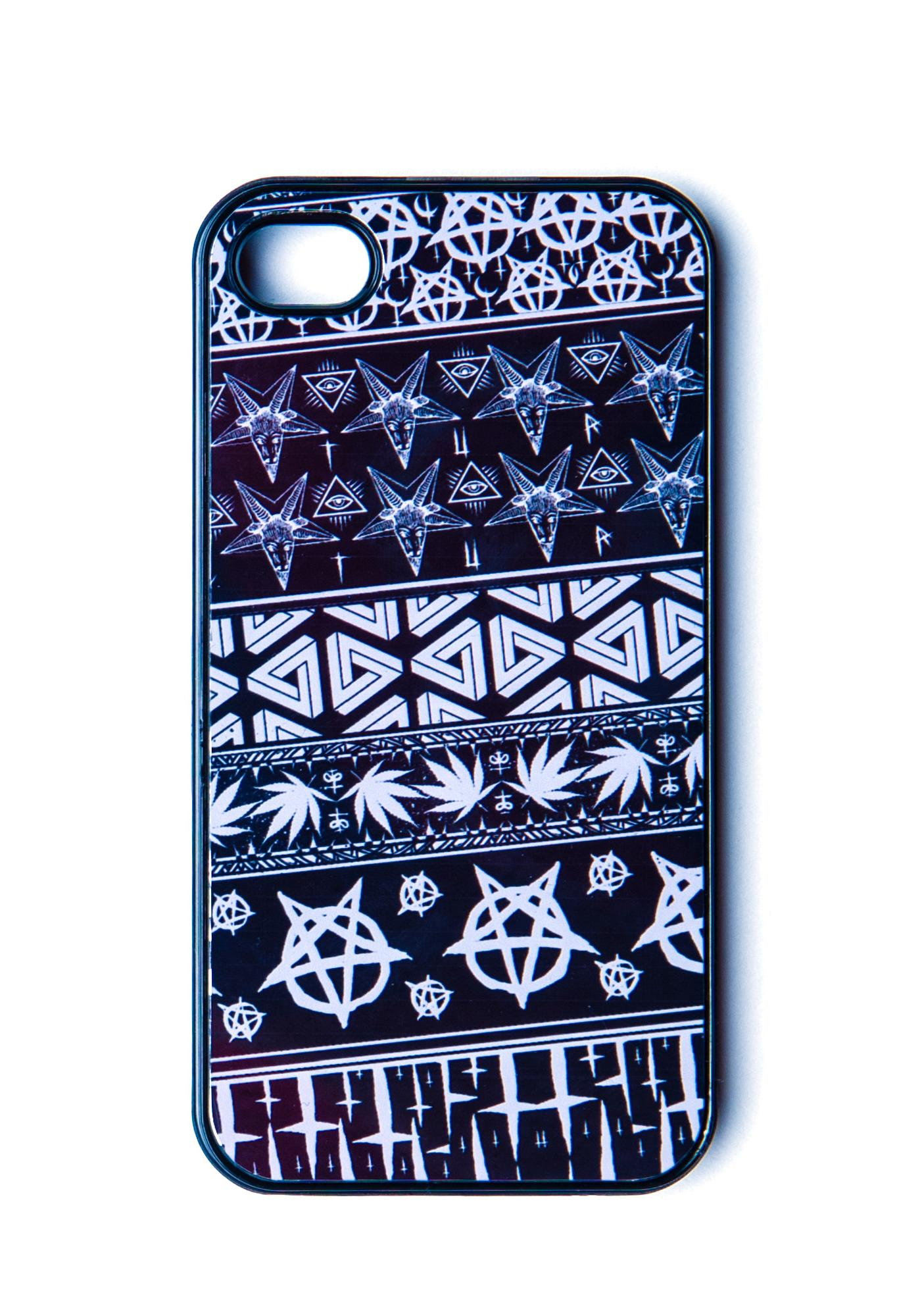 Disturbia Symbols iPhone Case