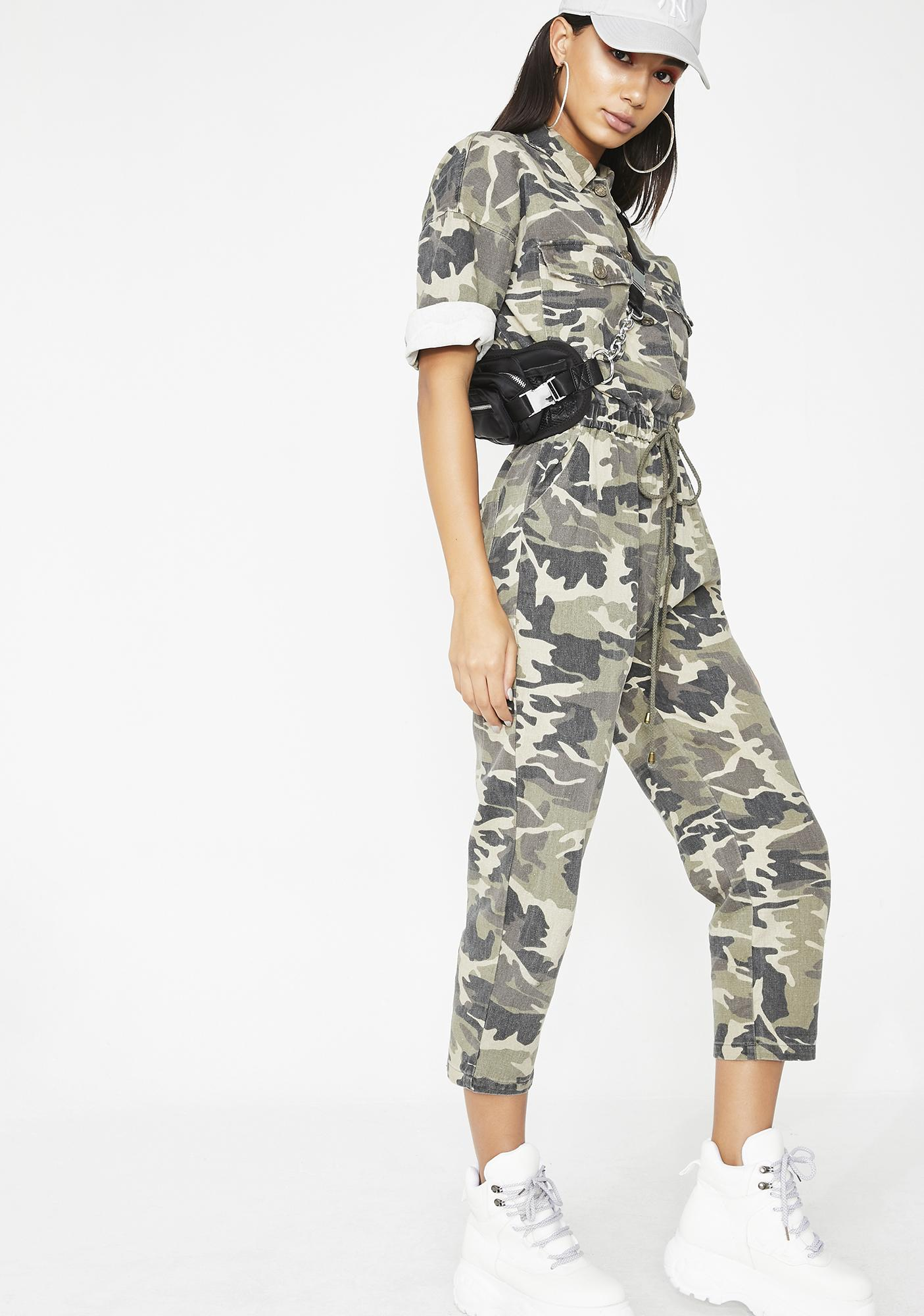 G Thang Camo Jumpsuit
