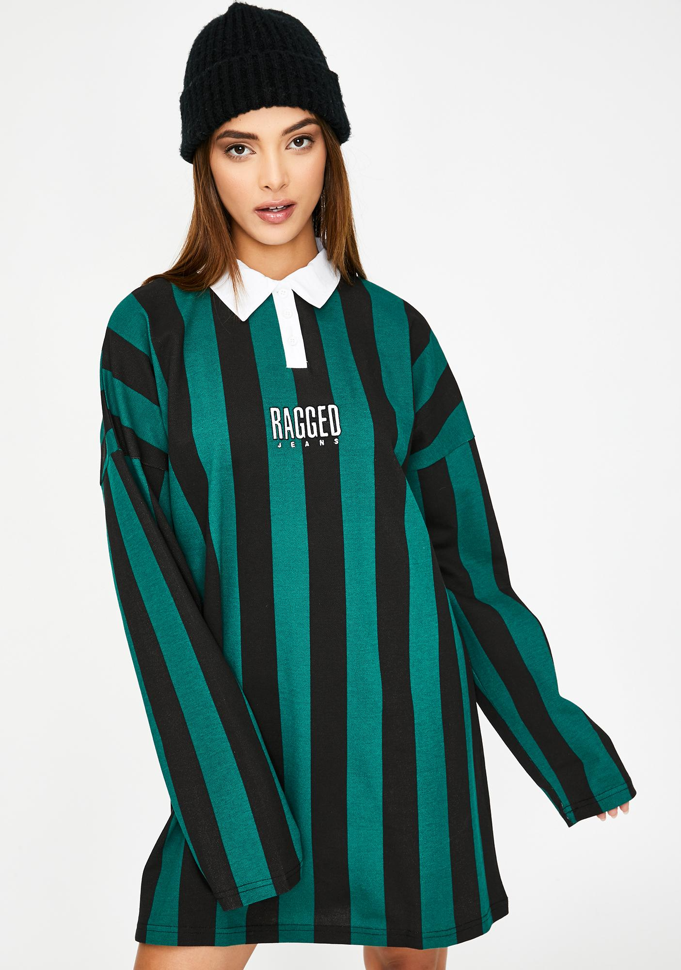 The Ragged Priest Elevator Polo Dress